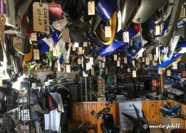 On my search for parts I visited a motorcycle salvage in northern LA... without success