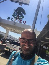 The border crossing at Tecate was fairly easy, and besides preparing my visa the official wanted to sell me some salsa and dry meat as well