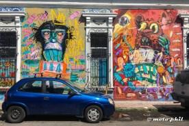 Colorful grafitti in Guadalajara