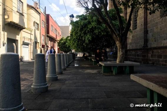 Pedestrian area in Guadalajara