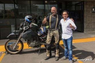 moto.phil and Rodrigo at Tracsa in Guadalajara
