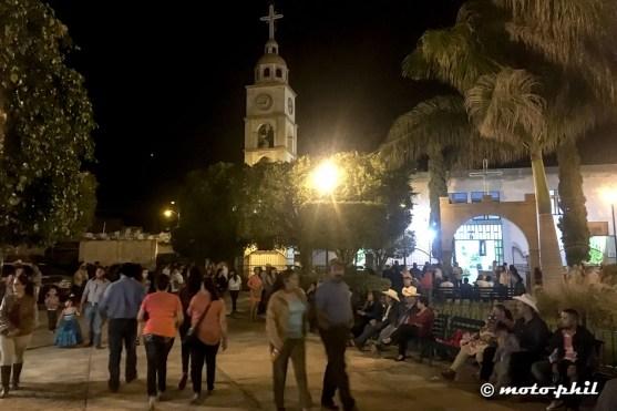 Chruch behind main Square in Santa Elena
