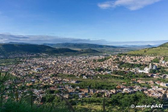 View on the city of Atotonilco el Alto