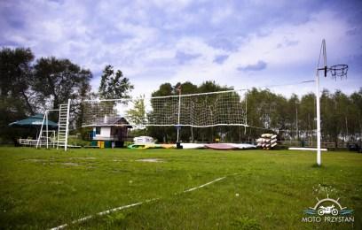 camping boisko do siatkówki