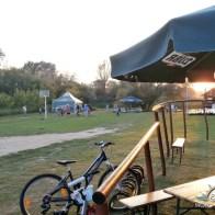camping przy plaży