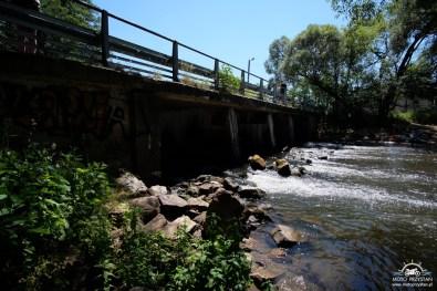 Most na Rawce w budach Grabskich