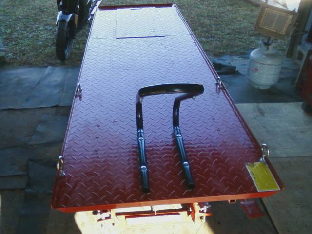 Side By Side Motorcycle >> Harbor Freight Motorcycle Lift Table Update - Motopsyco's ...