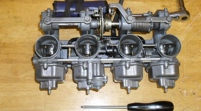 Vintage Piston Valve Keihin Carburetor Overhaul