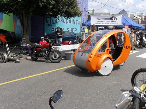 organic transit pedal electric three wheeler