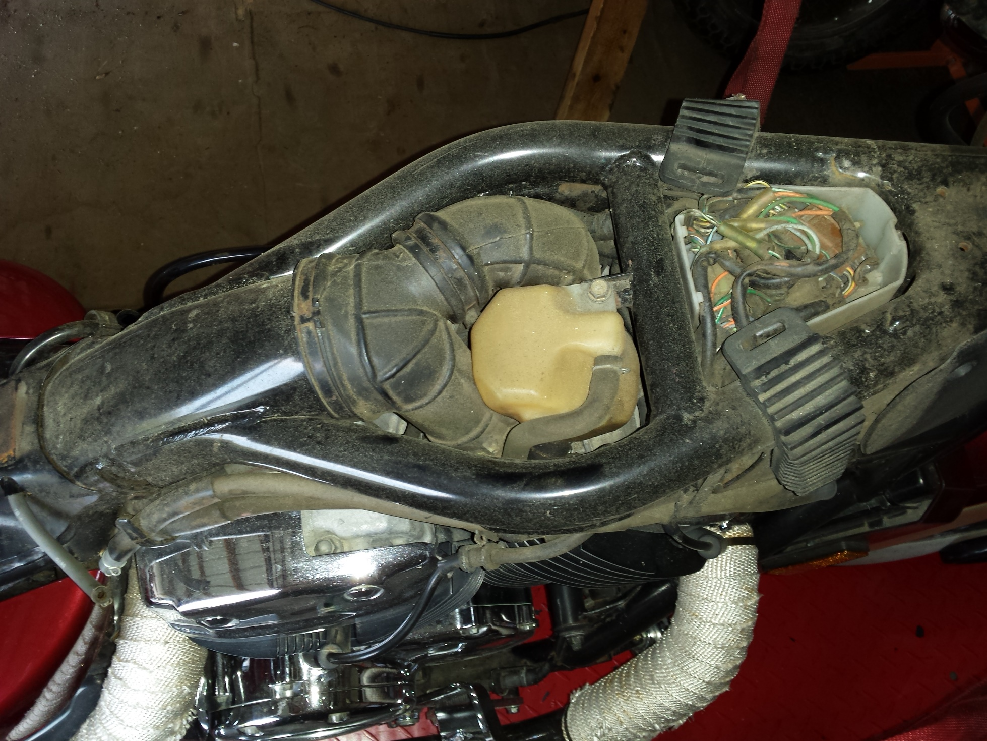 1996 Honda Shadow 1100 Wiring System Diagram Trusted Diagrams 97 Carb Cleaning Jetting Part 1 1998 Goldwing