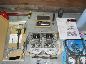 <tools for motorcycle & atv head service>