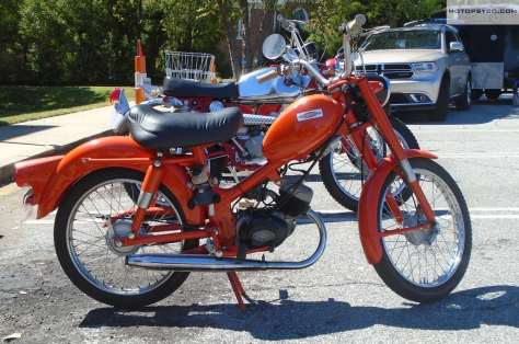 65 Harley Davidson M50 right