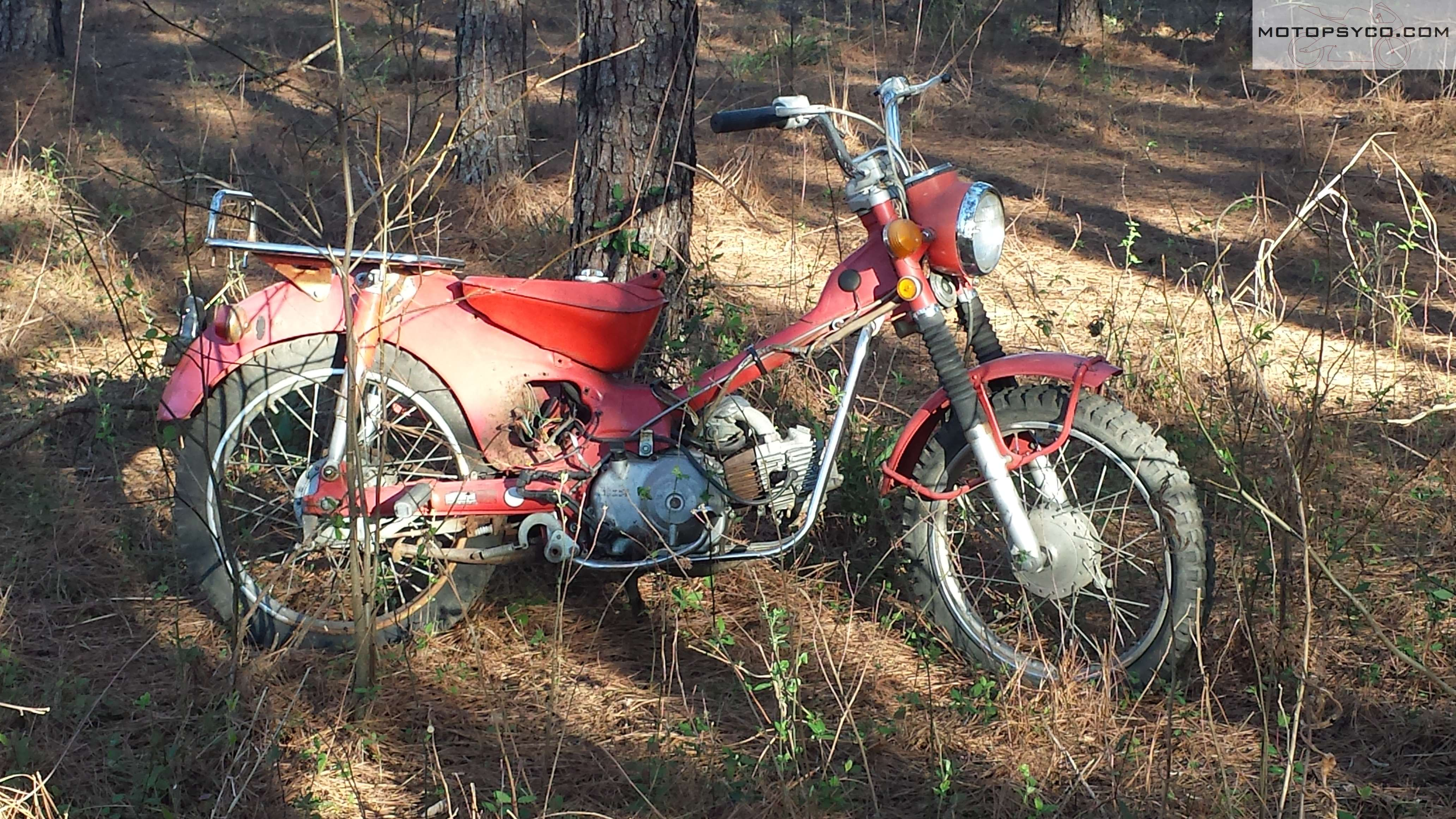 Ct90 Wiring Harness 1970 Honda Junkyard Dog Motopsycos Asylum Crazy About In The Woods