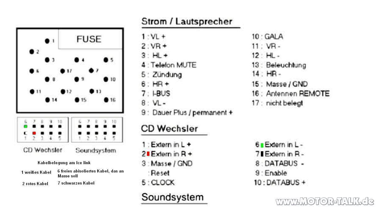 hight resolution of e46 business navi radio strom leitung car hifi e46 radio wiring plug diagram bmw e46 business radio wiring diagram