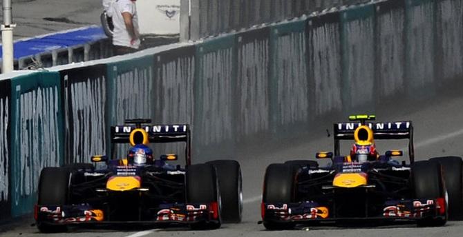 Rivalidad Vettel-Webber
