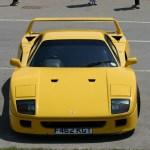 Los Raros Y Veteranos Ferrari Amarillos El F40 De 650 Cv Del Sultan De Brunei Motor Es