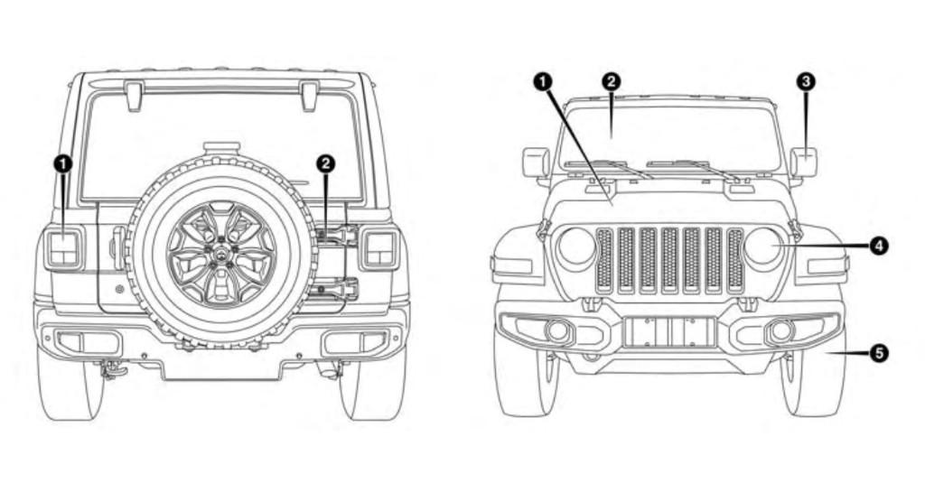 El Jeep Wrangler JL 2018 y todos sus detalles filtrados al