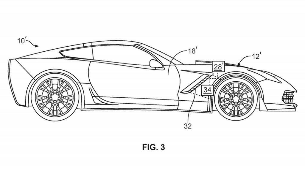 Chevrolet vuelve a patentar sistemas de aerodinámica