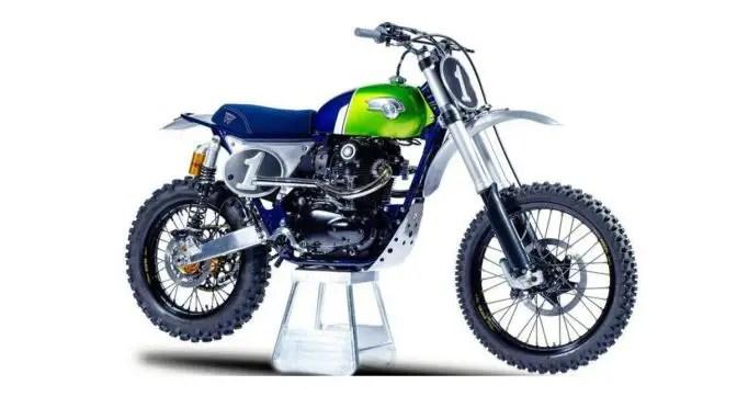 Kawasaki W800 Cross