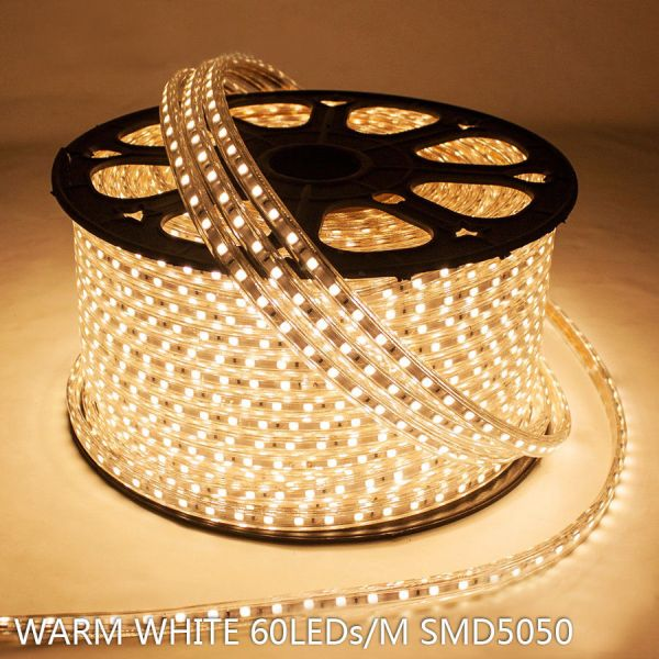 Waterproof Smd 5050 Led Strip Rope Light Home Party