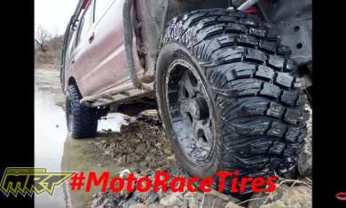 Testing the BRAND NEW MotoRaceTire