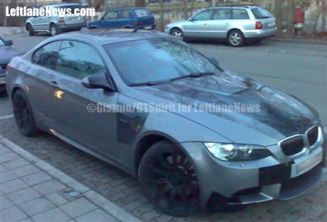 Foto espía BMW M3
