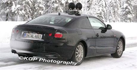 Audi A5, fotos espía