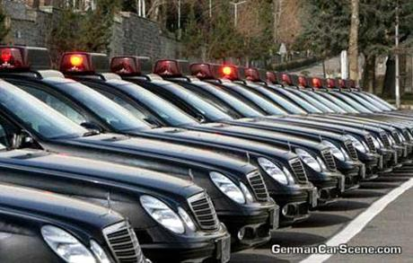 Mercedes Benz Clase E para la policía iraní