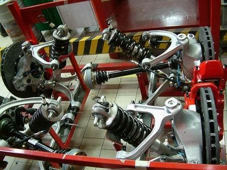 Fotos de la fábrica de Ferrari
