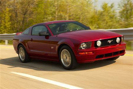 El desafío de un Ford Mustang sedán es falso