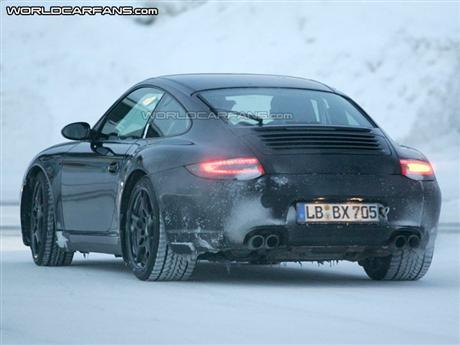 Fotos espía del Porsche 911