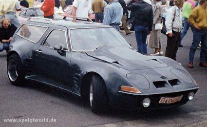 Tuneando el Opel GT I