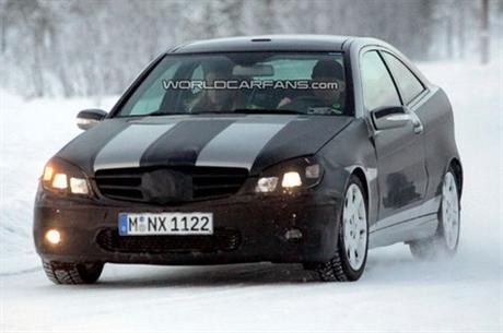 Fotos espía del Mercedes Benz Sportcoupé