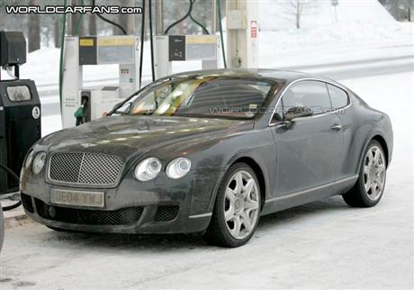 Fotos espía del Bentley Continental, GT y Flying Spur