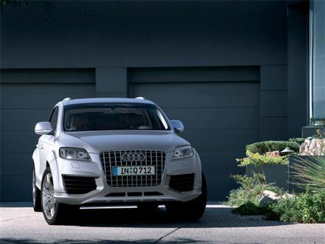 Audi Q7 V12 TDi, cazado