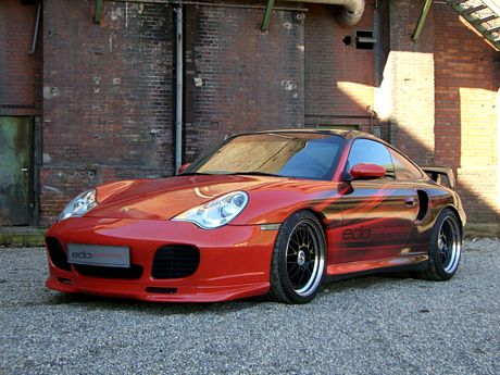 Porsche 996 Turbo Edo Competition, sorprenderte