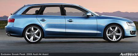 Audi A4 2009, más recreaciones