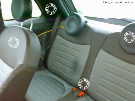 Fiat 500, fotos y vídeo espía