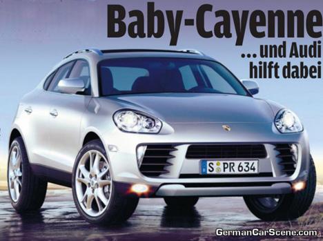 Mini Porsche Cayenne