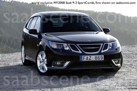 Saab 9-3 y las imágenes filtradas
