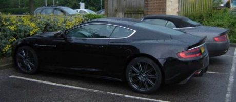 Aston Martin DBS en directo