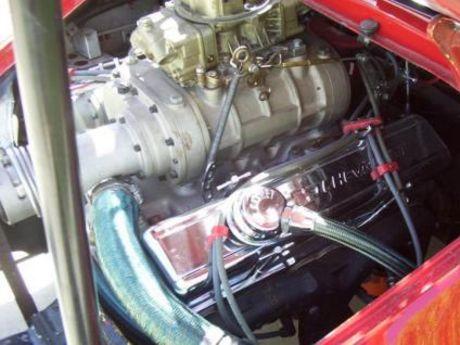 Porsche 911 Turbo con un V8 Chevy