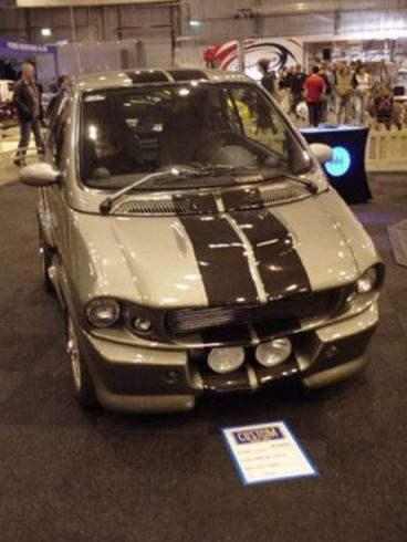 Shelby GT500 Eleanor, versión Smart ForTwo