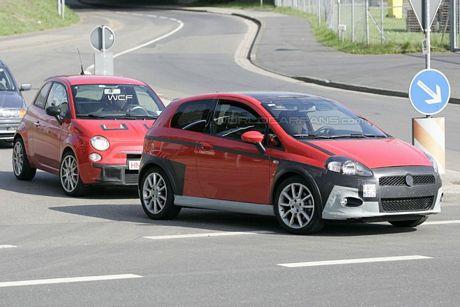 Fiat Grande Punto Abarth y 500 Abarth, los escorpiones van de la mano