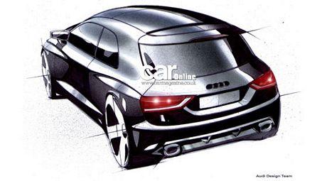 Audi A1, primeros bocetos oficiales
