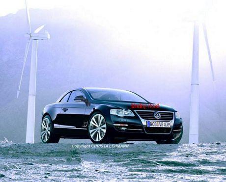 Volkswagen Phaeton CC, mula de pruebas cazada