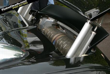 Bugatti Veyron Corrosión