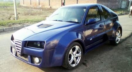 Daewoo con tintes de Alfa Romeo