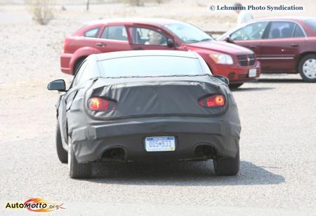Hyundai Coupé 2008, más fotos espía