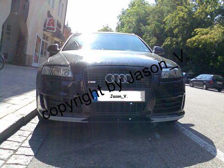 Fotos espías del nuevo Audi RS6 Avant desde muy cerca